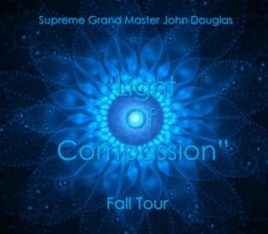 Blue Circle Light of Compassion Fall Tour